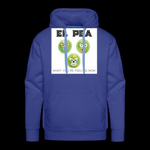 EL Pea - What You re Feeling Now - Men's Premium Hoodie