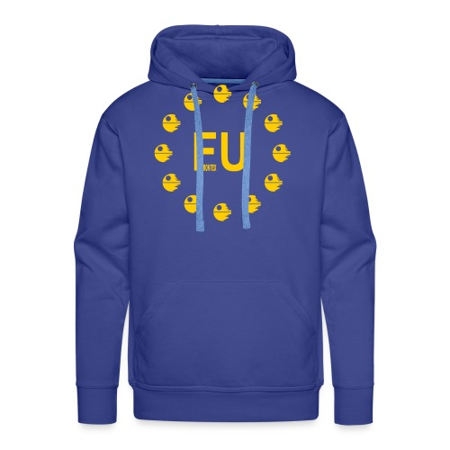 EU Death Star - Human Being Union H.B.U. - Männer Premium Hoodie