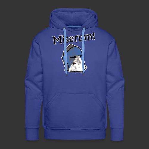 Warden Cytat Miserum! - Bluza męska Premium z kapturem