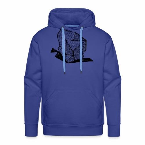 ROCK No 1 b w - Mannen Premium hoodie