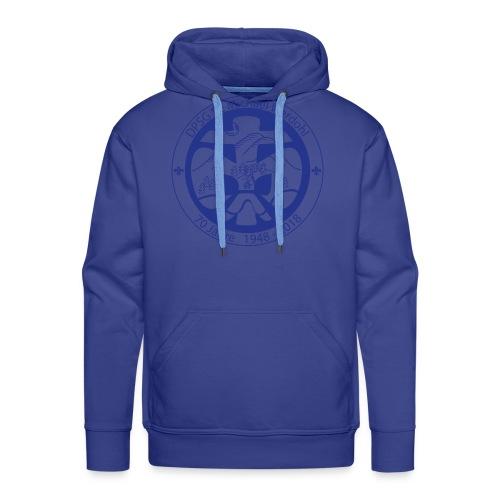 Logo Jubi Rund Blau - Männer Premium Hoodie