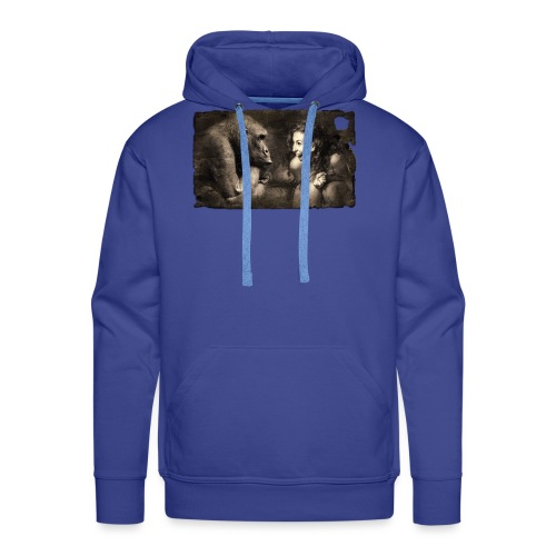Girl & Monkey - Men's Premium Hoodie