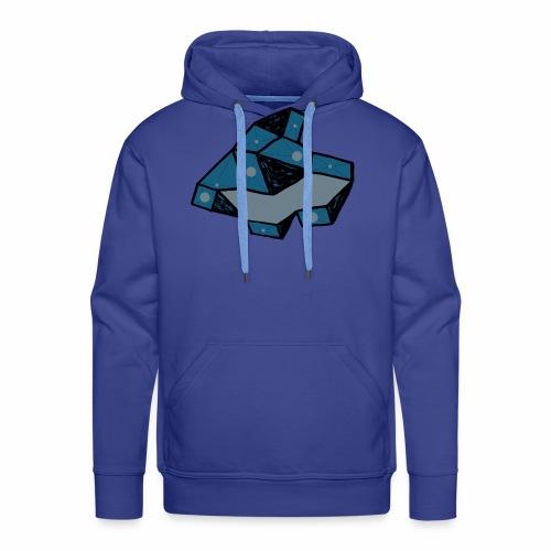 dot rock - Mannen Premium hoodie