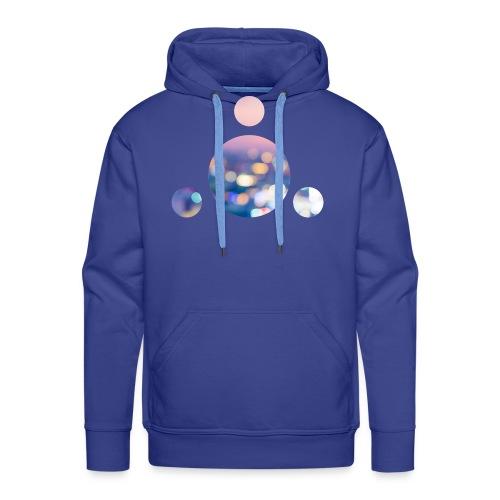 BULLES - CERCLE - Sweat-shirt à capuche Premium pour hommes