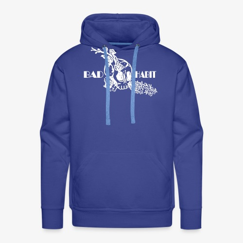 Bad Habit Flowers - Men's Premium Hoodie