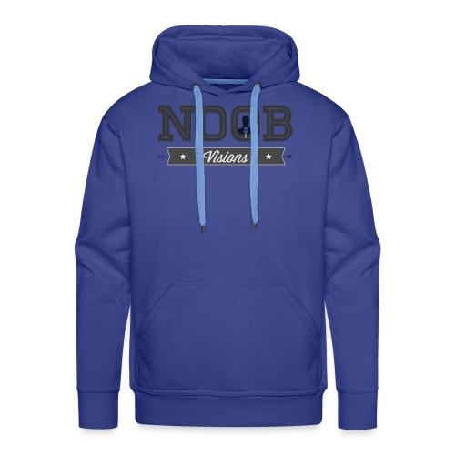 Stort Noob visions Logo - Herre Premium hættetrøje