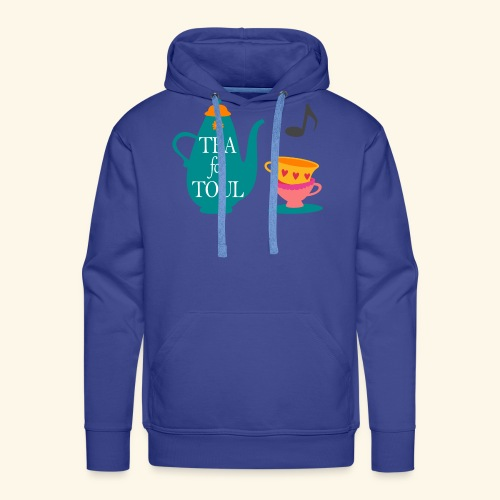 Tea for Toul - Sweat-shirt à capuche Premium pour hommes