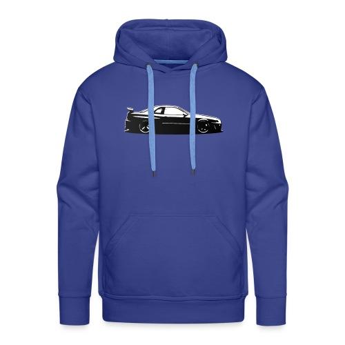 Minimalist Skyline - Sweat-shirt à capuche Premium pour hommes
