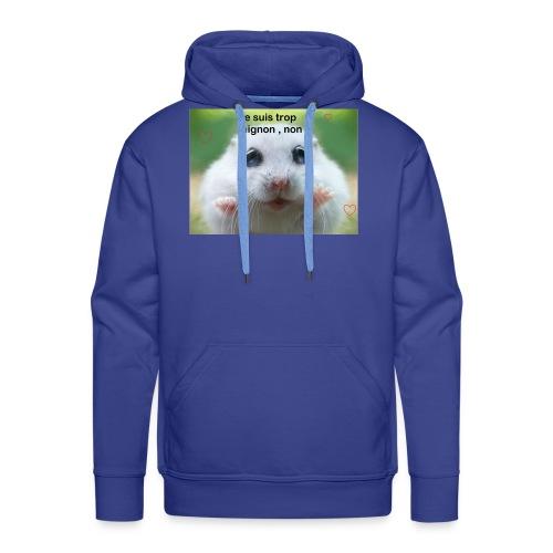 Animal trop mignon - Sweat-shirt à capuche Premium pour hommes