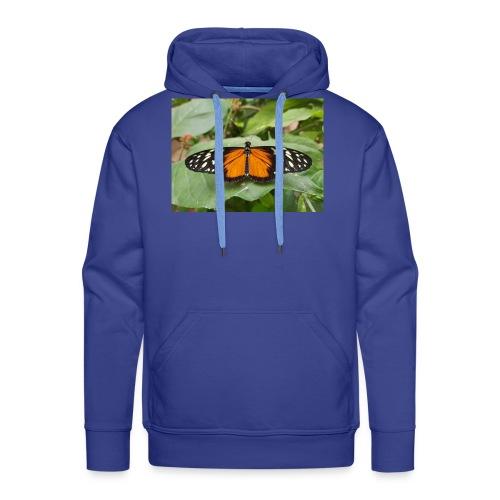 Joli papillon - Sweat-shirt à capuche Premium pour hommes