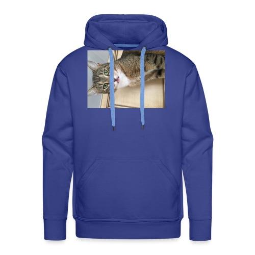 Kotek - Bluza męska Premium z kapturem