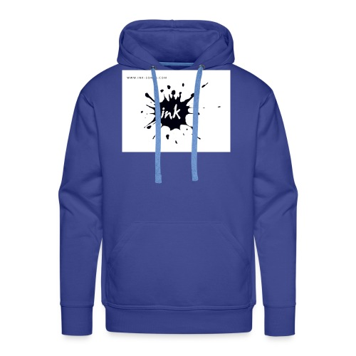 Ink Logo and website - Men's Premium Hoodie