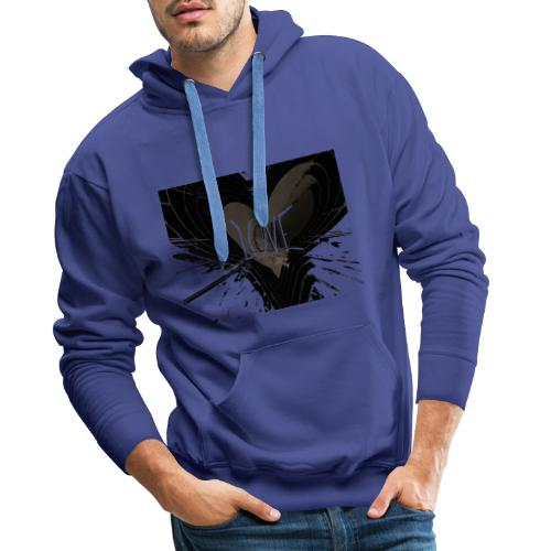 explosion d amour - Sweat-shirt à capuche Premium pour hommes