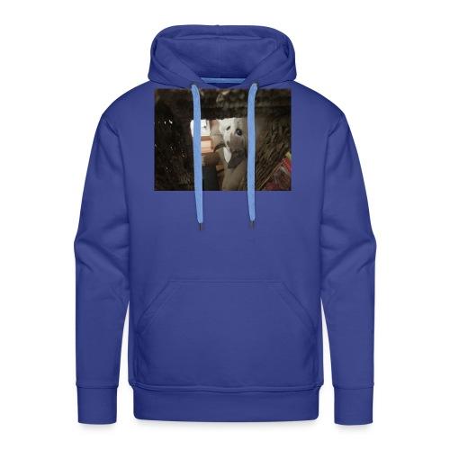 Vigilado - Sudadera con capucha premium para hombre