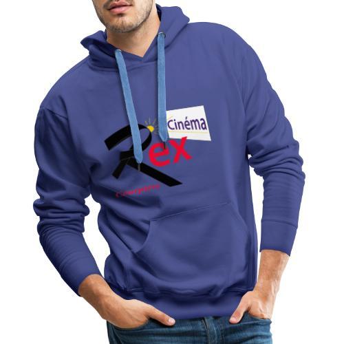 Cinéma Rex - Sweat-shirt à capuche Premium pour hommes