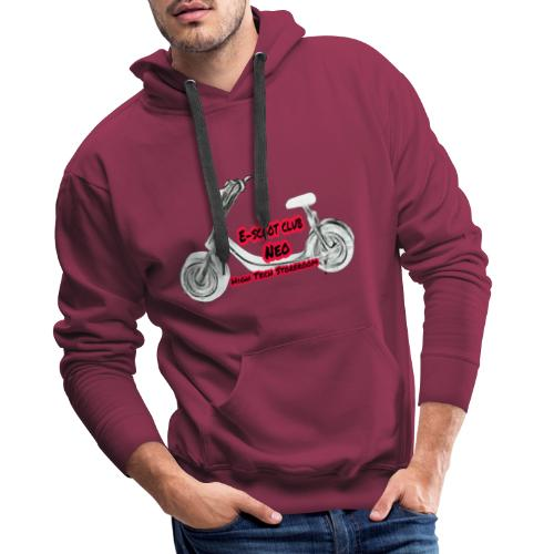 Neorider Scooter Club - Sweat-shirt à capuche Premium pour hommes