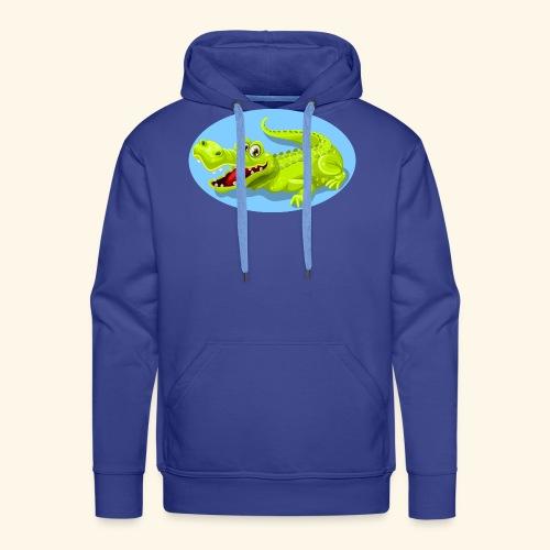 crocodile - Sweat-shirt à capuche Premium pour hommes