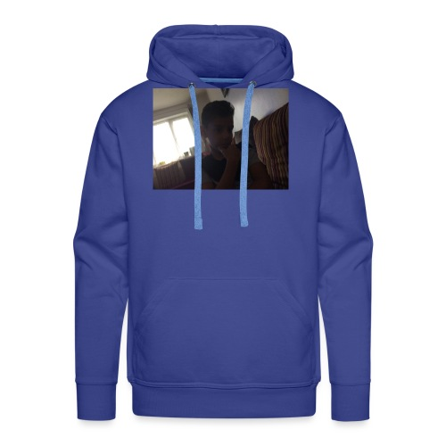 imagebecause its all - Men's Premium Hoodie