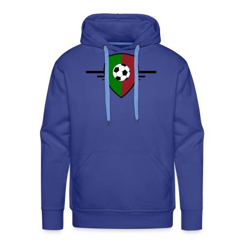 Portugal football - Sweat-shirt à capuche Premium pour hommes