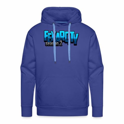 Logo FexarCityS2 - Felpa con cappuccio premium da uomo