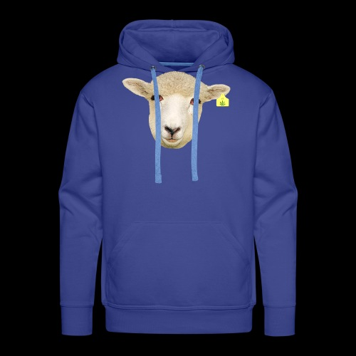 WEED SHEEP - Felpa con cappuccio premium da uomo