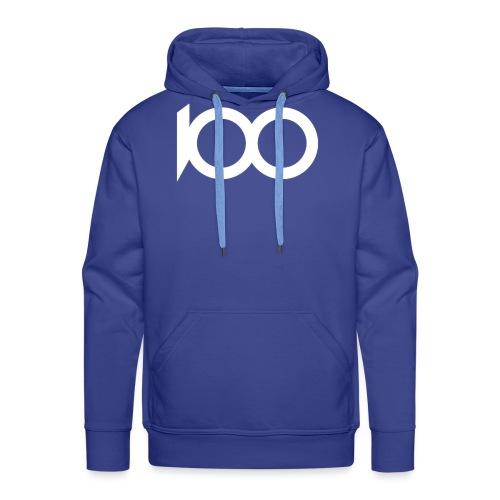 100% WHITE - Men's Premium Hoodie