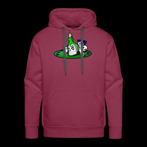 greenSkull svg - Männer Premium Hoodie