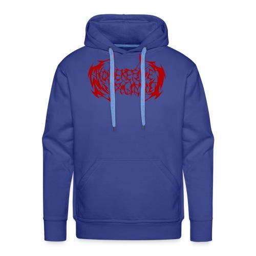 ARV Logo rosso - Felpa con cappuccio premium da uomo