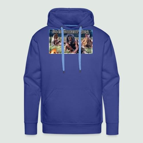 holbewoner gang - Mannen Premium hoodie