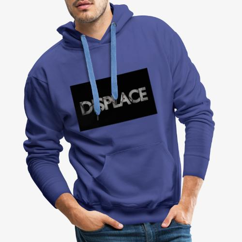 Displace Cracked Black - Männer Premium Hoodie