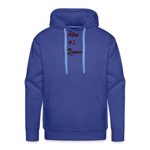King #1 Queen - Mannen Premium hoodie