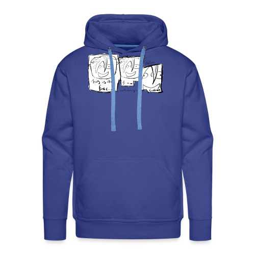 This Is The Face Comic | Peter Eric Lang - Men's Premium Hoodie