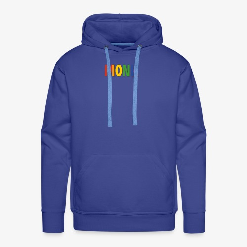 Monk Pride (Rainbow) - Men's Premium Hoodie
