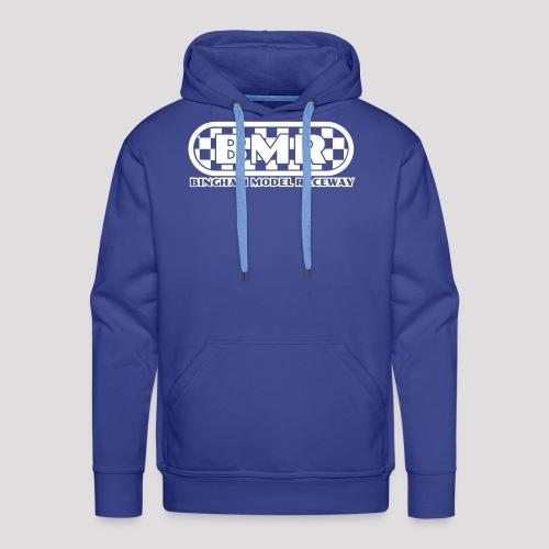 All white BMR logo - Men's Premium Hoodie