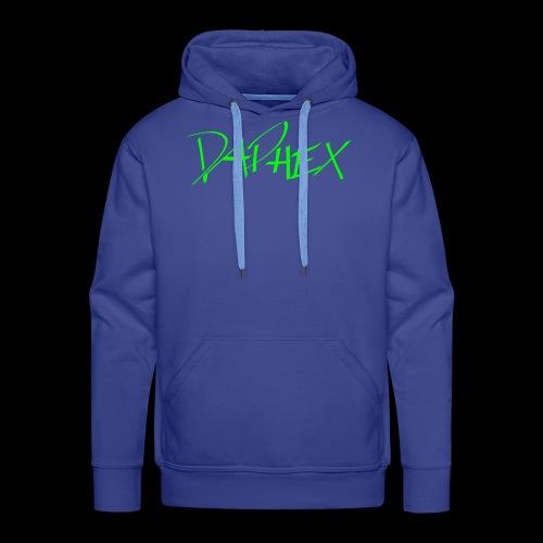 DAPHEX neongreen - Männer Premium Hoodie