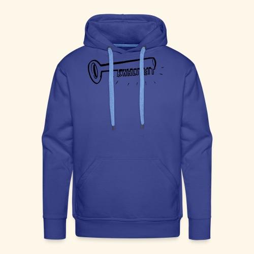 Kwaliteit sleutel transparant - Mannen Premium hoodie