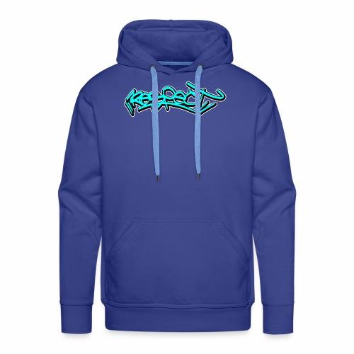 respect graffiti tag - Männer Premium Hoodie