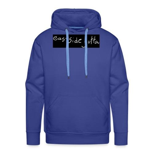 Eastside gutta logo - Premium hettegenser for menn