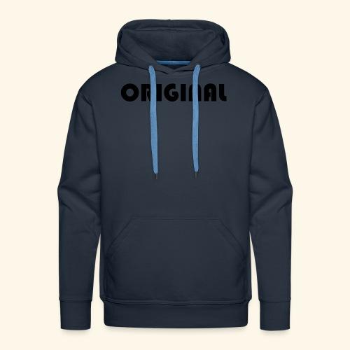 Original - Sudadera con capucha premium para hombre