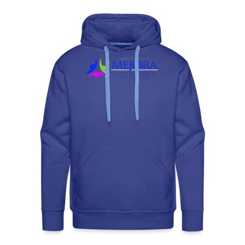 Logo Colorido Alargado - Sudadera con capucha premium para hombre