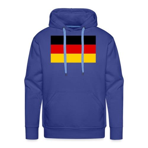 2000px Flag of Germany svg - Männer Premium Hoodie