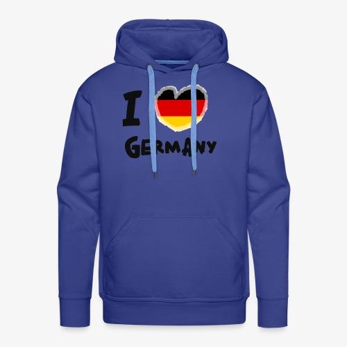 I Love Germany!!! - Männer Premium Hoodie