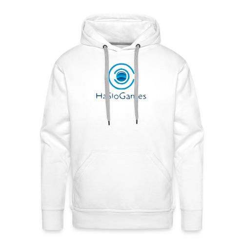 HasloGames Producten officieel logo - Mannen Premium hoodie