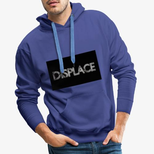 Displace Cracked Black - Männer Premium Hoodie