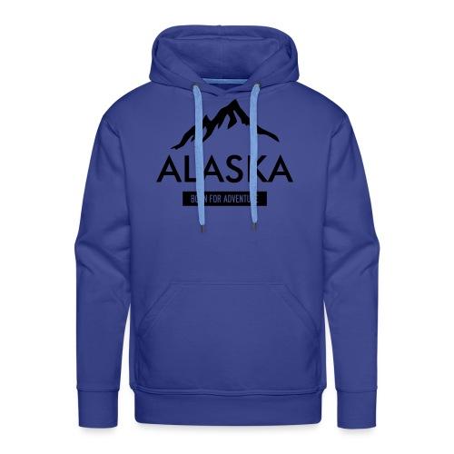 Alaska long dark - Felpa con cappuccio premium da uomo
