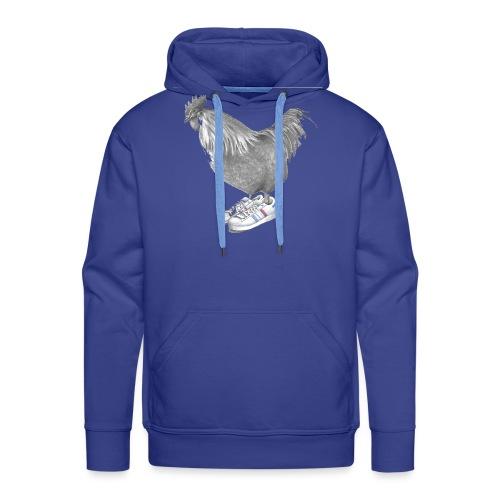 cocorico - Sweat-shirt à capuche Premium pour hommes