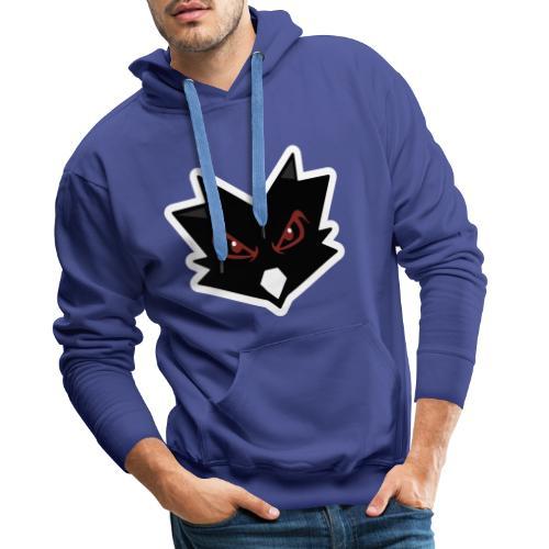 Logo Shadow Without text. - Mannen Premium hoodie