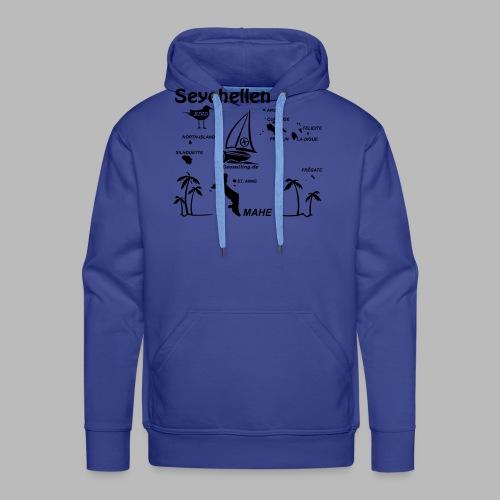 Seychellen Insel Crewshirt Mahe etc. - Männer Premium Hoodie
