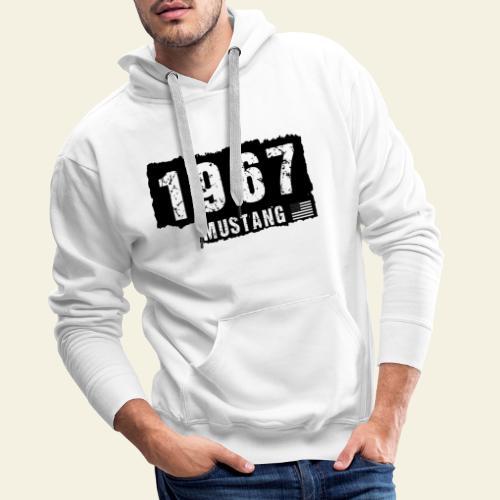 1967 - Herre Premium hættetrøje