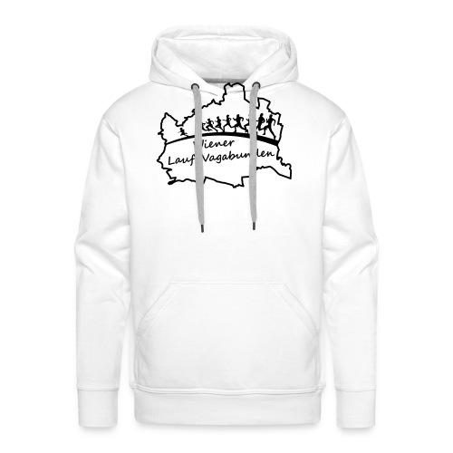 Laufvagabunden T Shirt - Männer Premium Hoodie